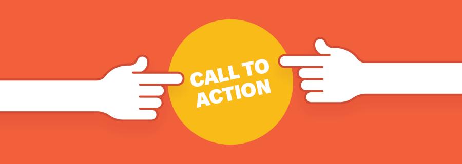 call to action - botão de ação.