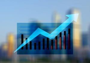 Crescimento da Receita Gráfico KPI