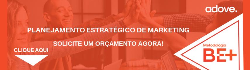 Orçamento do planejamento estratégico de marketing