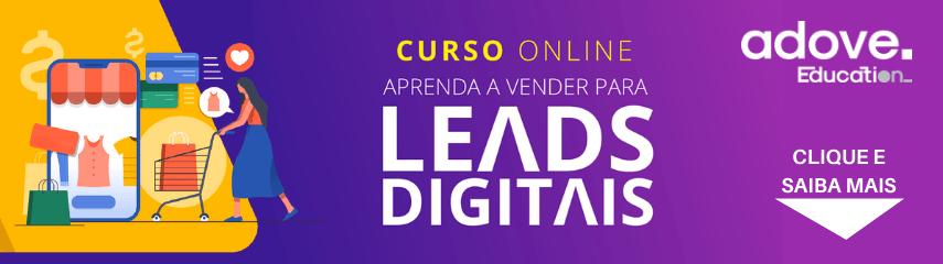 Curso Aprenda a vender para leads digitais