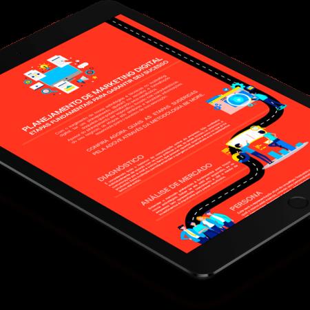 Infográfico - Planejamento Marketing Digital